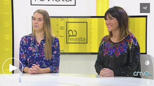 María Mera e Estíbaliz Veiga nos Mestre Mateo