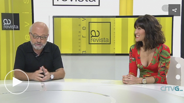 Estíbaliz Veiga e Xavier Pan falan de 'Fontealba'